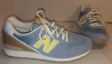 NEW WOMEN'S NEW BALANCE 696 BLUE & YELLOW RETRO RUNNING SHOES SNEAKERS SIZE US 7