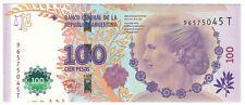 P358b.3 2016 Argentina 100 Evita Peron peso note UNC Read description world lot