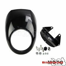 Front Fairing Headlight Cowl Nose Fork Mount For Harley Sportster Dyna 1973-Up