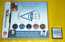 TRAINING FOR YOUR EYES Nintendo Ds Versione Ufficiale Italiana »»» SENZA MANUALE