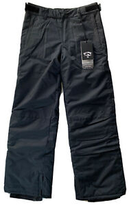 Billabong Youth Boys Grom Insulated Snow Pants Black Boys Size Large 14 BSNP3BGP