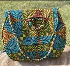 Chain handle Ankara bag