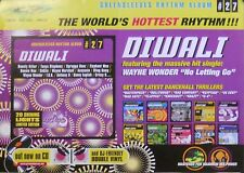 DIWALI, GREENSLEEVES RHYTHM ALBUM POSTER (Z6)