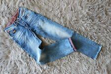 """New WAM Denim Men Jeans Blue Low-Rise Slim Skinny W27""""_L34"""" Size 29 Regular"""