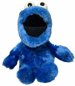 """1980s Cookie Monster 15"""" Applause Open Mouth Plush Doll Muppets #14095 Vintage"""