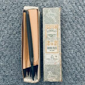 "1 x SWEDISH STEEL Öberg & Co. 6"" Taper Saw Files 150mm Metal Blade Sharpening"