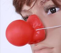 Clown Red Nose Honking Comic Circus Clown Nose for Halloween Carnival Christmas