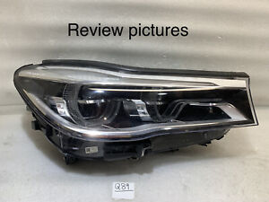 2016 2017 2018 2019 BMW 7 Series 740i 750i LED Headlight OEM Right Passenger