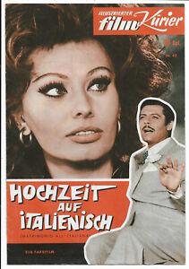 Illustrierter Film-Kurier Nr.43 von 1964 Hochzeit auf italienisch - Z1-2