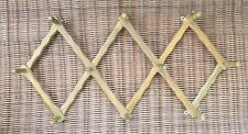Vintage Accordion Wall Rack - 10 Peg - Expandable
