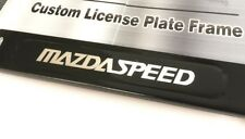 License Plate Frame for MAZDASPEED Matte Black Mazda RX7 RX8 3 5 6 CX9 MX5 Miata
