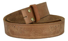 BS60 Full Grain Leather Belt Strap, 1-3/4