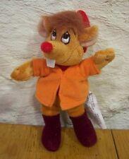 "Walt Disney Cinderella JAQ THE MOUSE 6"" Stuffed Animal NEW"