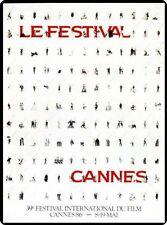 Affiche Originale Festival de Cannes 1986