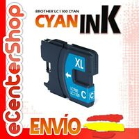 Cartucho Tinta Cian / Azul LC1100 NON-OEM Brother MFC-6490CW / MFC6490CW