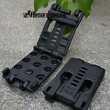 Belt Clip Clamp Match K Sheath Outdoor Camping Hiking EDC Kits Survival Tools