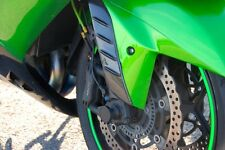 Kawasaki ZX14R ZZR1400 GTR1400 100% carbon fibre fender inserts performance