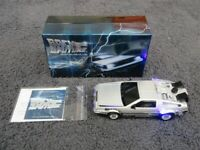 Perth Mint Back to the Future - DeLorean 1 oz Silver Proof Coin and Car