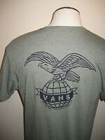 Vans Shoes Mens SS Global Landing OTW Logo T Shirt Green Black XL Free Ship NWT
