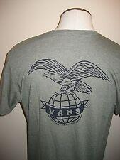9afc9a05c VANS Shoes Mens SS Global Landing OTW Logo T Shirt Green Black XL Ship