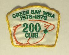 1978-79 Green Bay Wba 200 Club Bowling Patch