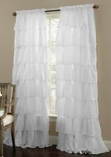 """Luxurious  Window Curtains,108 x 84""""-Inch, White Set of 2 New."""