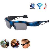 Bluetooth Sunglasses Wireless Glasses Headphones Headset Stereo Earphones+Mic Y.