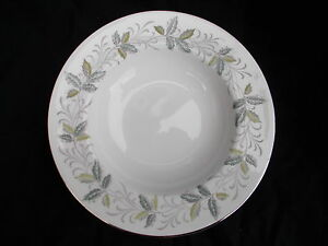 Tuscan RONDELEY Rimmed Soup Plate. Diameter 8 inches.