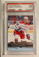 2014 EVGENY KUZNETSOV PSA 9 #248 CAPTIALS ROOKIE RC UPPER DECK YOUNG GUNS