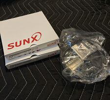 Lot Of 2 New Ftw4 Panasonic Sunx Fiber Optic Sensor Ft W4