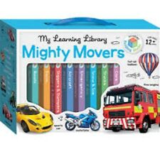 MY LEARNING LIBRARY  MIGHTY MOVERS CHILDREN'S BOOKS  AGES 12mths + NEW