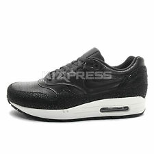Nike Air Max 1 Leather PA [705007-001] NSW Running Black/Black-Sea Glass
