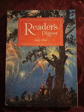 Readers Digest July 1963 Eugene Burdick Richard Burton Dwight D Eisenhower
