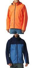 Adidas Men's NEW  Wandertag Outdoor Jacket Full Zip Hooded Waterproof Rain Coat
