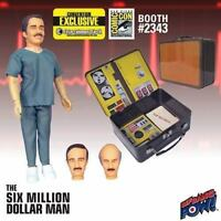 Six Million Dollar Man 3 Faces of Dr. Rudy Wells Gift Set Tin Tote