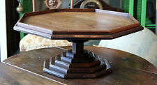 TOP RAR ETAGEN BUFFET AUFSATZ TISCH - MASSIV HOLZ ARBEIT - ART DECO TOWER TABLE