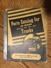 1950 Studebaker 2R6-2RAA-2R14 Truck Parts Catalog