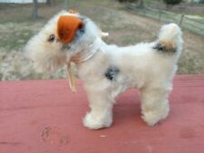 Vtg Antique? Stuffed Mohair Dog Welsh Lakeland Wire Haired Fox Terrier Airedale