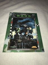 WARHAMMER  40,000  CODEX ORKS By: Andy Chambers Copyright: 1999  Games Workshop