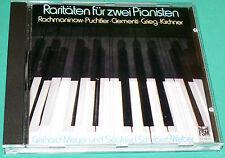 Rarities For Two Pianists # Gerhard Meyer Siegfried-Weber Rachmaninov+ (FSM) CD