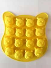 16 CELL Winnie the poo MOULD CAKE JELLY CHOCOLATE SILICONE MOLD DECORATION SOAP
