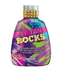 Supre My Tan Rocks Instant Bronzer Skin Firm Tone Tanning Lotion