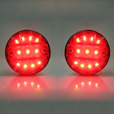 2x Smd Led Tail Light Rear Light 24v Truck Lorry Fits Mitsubishi Fuso Canter