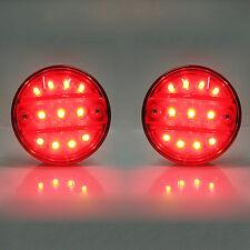 Set di 2 SMD LED Luce Di Coda Posteriore Luce 24v per Renault Midlum M 210 KERAX