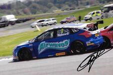 FABRIZIO GIOVANARDI signé Airwaves Racing Ford Focus ST BTCC THRUXTON 2014