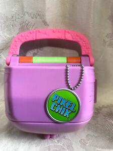 Pixel Chix Love 2 Shop Mall Interactive Pink Purse Interactive Mattel Toy Works