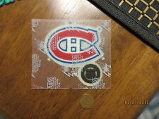 """Montreal Canadians 3"""" Lextra Patch 1956-1999 Primary Logo Hockey"""