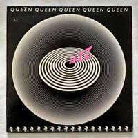 QUEEN LP JAZZ WITH INNER POSTER 33 GIRI VINYL 1978 ITALY EMI 3C 064-61820 NM/NM
