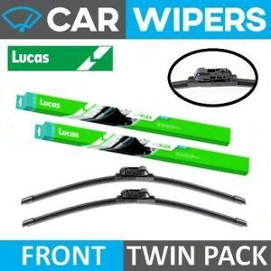 Mercedes-Benz E Class Saloon 2014 - 2015 Lucas AIRFLEX Wiper Blades - Twin Pack