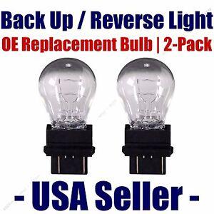 Reverse/Back Up Light Bulb 2pk - Fits Listed Saturn Vehicles - 3057